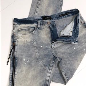 PACSUN Stacked Skinny Jeans 31x32